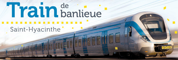 Un pas vers un train de banlieue journal mobiles saint for Chambre de commerce st hyacinthe